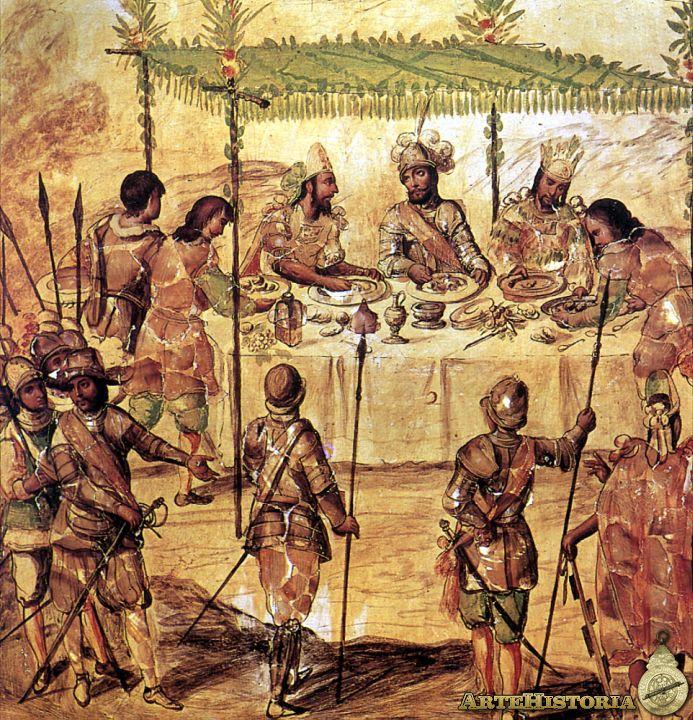 Conocer indios americanos con material mate